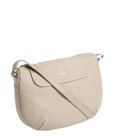 Furla sabbia textured leather 'Wave' crossbody bag