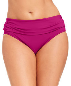 Kenneth Cole Reaction Banded Hipster Bikini Bottom