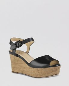Cole Haan Platform Wedge Sandals - Gillian