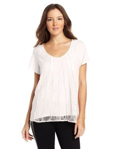 Calvin Klein Women's Lace Blouse
