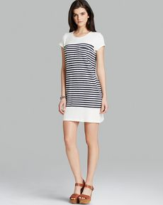 Joie Dress - Courtina Stripe