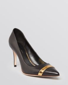 Elie Tahari Pointed Toe Pumps - Linden High Heel