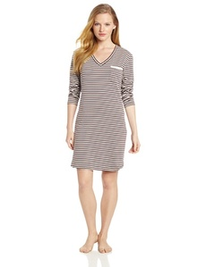 Calvin Klein Women's Long Sleeve Nightdress