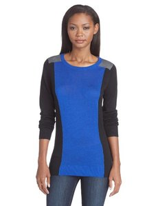Calvin Klein Women's Colorblock Pullover Sweater