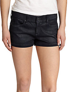 AG Adriano Goldschmied Cocktail Denim Shorts