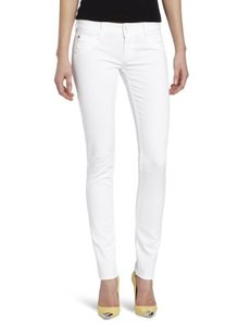 Hudson Jeans Women's Collin Skinny Jean in White