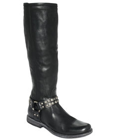 Frye Women's Phillip Studded Harness Tall Boots