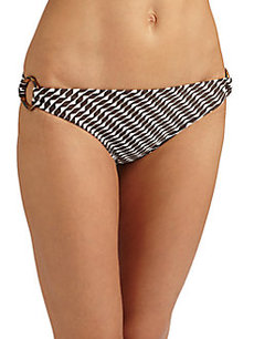 Shoshanna Cape York Ring Bikini Bottom