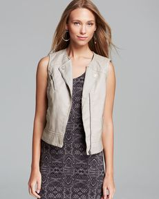 Sanctuary Mel Faux Leather Vest
