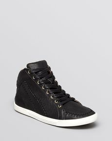 Joie Lace Up High Top Sneakers - Judson