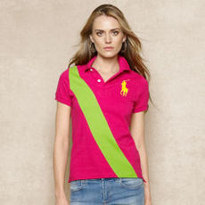 Skinny Banner Big Pony Polo