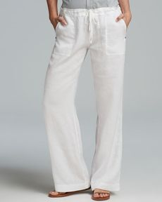 Michael Stars Pants - Relaxed Fit Linen