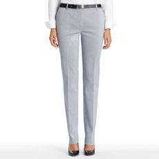 The Grace Corded Pinstripe Pants (Petite)
