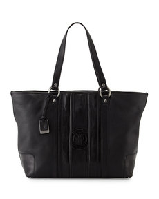Frye Jane Leather Tote Bag, Black