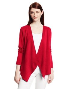 Jones New York Women's Long-Sleeve Open Cardigan Sweater