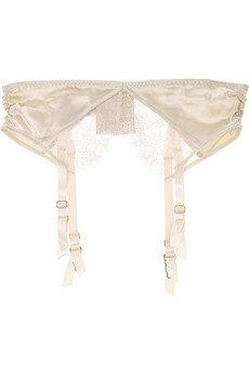 Stella McCartney Josephine Marrying satin suspender belt