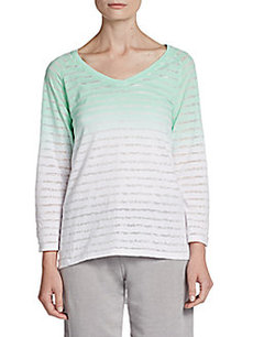 Calvin Klein Performance Ombré Roll-Tab Top