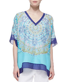 Tommy Bahama May Pen Medallion Tunic