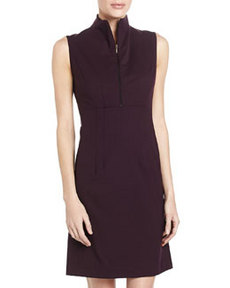 Lafayette 148 New York Ashton Sleeveless Dress, Purple