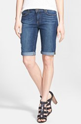 Paige Denim 'Jax' Cuffed Denim Knee Shorts (Luca)