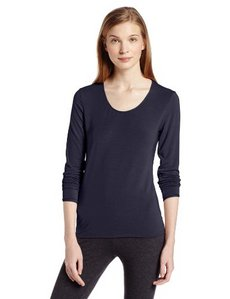 Jockey Women's Long Sleeve Ballet Neck Thermal Top