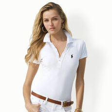 Skinny-Fit Mercerized Polo