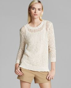 Theory Pullover Sweater - Rainee Pointing