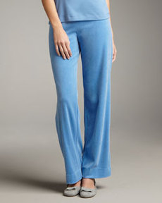 Joan Vass Velour Pants
