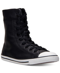 Converse Women's Chuck Taylor All Star Dainty Hi Leather Casual Sneakers from Finish Line