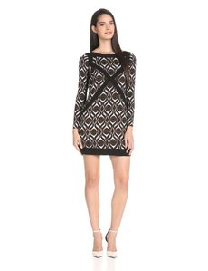 Tracy Reese Women's Spliced Shift Dress