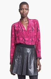 Tracy Reese Silk Surplice Blouse
