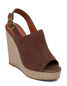 RONAND LEATHER WEDGE