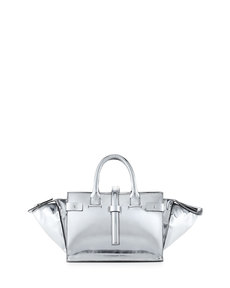 CoSTUME NATIONAL Parigi Mirrored Classic Duffel Bag, Multi
