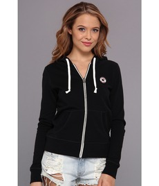 Converse French Terry Chuck Patch Full Zip Hoodie