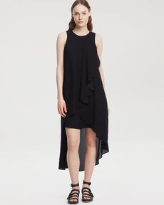 Kenneth Cole New York Lesley Drape Tank Dress