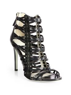 Jason Wu Leather & Suede Strappy Sandals