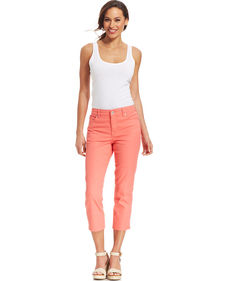 Charter Club Colored Denim Capris