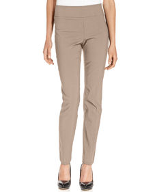 Alfani Petite Pants, Tummy-Control Skinny Pull-On