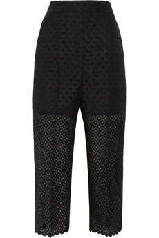 Stella McCartney Embroidered organza pants