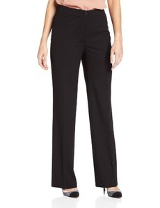 Jones New York Women's Sloane Solid Seaonless Stretch Classic Pant