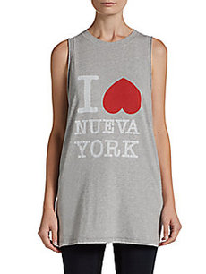 3.1 Phillip Lim I Love Nueva York Muscle Tank Top