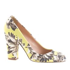 Blakely printed pumps