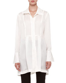 Long-Sleeve Tunic Blouse   Long-Sleeve Tunic Blouse