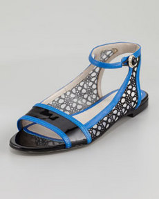 JASON WU Flat Ankle-Wrap Lace Flat