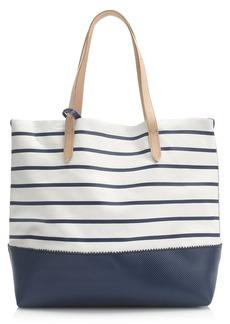 Downing tote in stripe