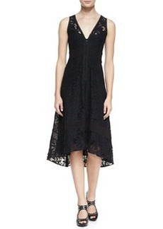 Flamenco Lace Arch-Hem Dress   Flamenco Lace Arch-Hem Dress