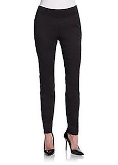 Saks Fifth Avenue BLUE Skinny Knit Pants