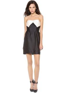 Shoshanna Stella Strapless Dress