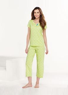 Charter Club Top and Capri Pajama Pants Set