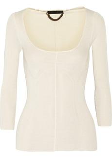 Burberry Prorsum Fine-knit silk sweater